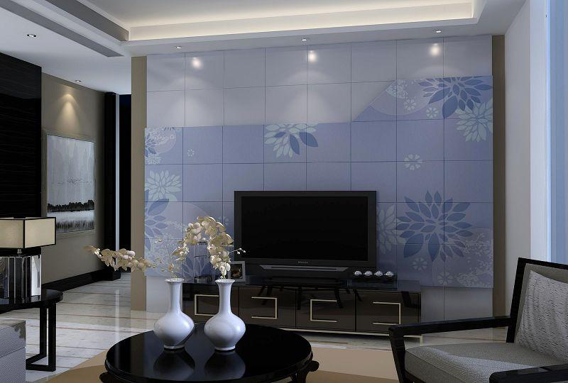 客厅电视背景墙 客厅电视背景墙材料 上海立中