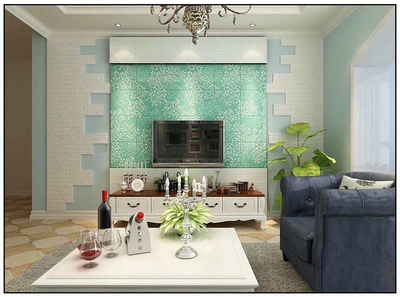 小户型客厅电视背景墙推荐